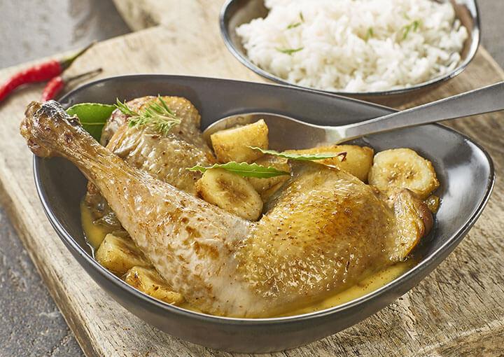 recette_daube_poulet_antillaise_rhum_bananes_plantains_le_picoreur