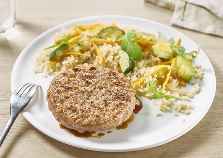 recette_haches_poulet_quinoa_le_picoreur