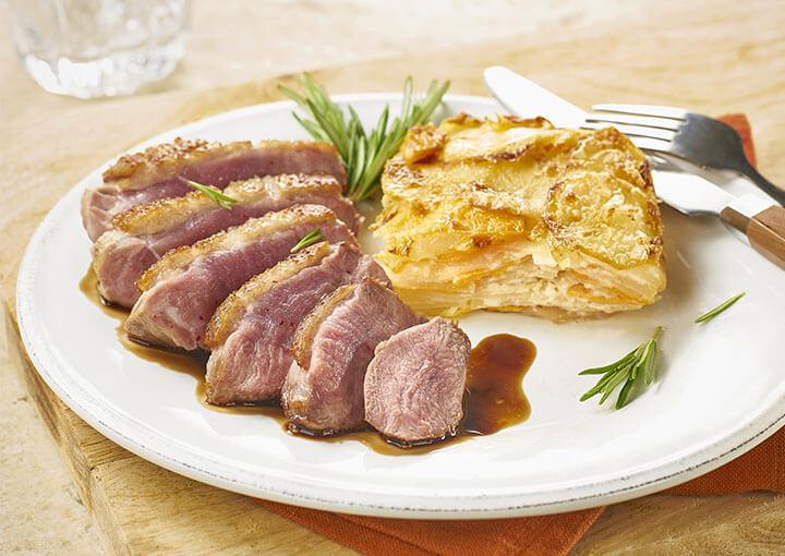 recette_filet_canard_miel_pommes_de_terre_carottes